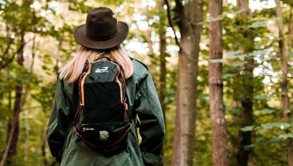Se parer d'un sac à dos pliable pour voyager